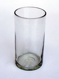 Clear tall iced tea glasses (set of 6).  http://mexicanglassware.us/Clear_tall_iced_tea_glasses_(set_of_6).php?vo=119654&src=gmc