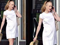 Nicole Kidman teve sua primeira filha biológica, em 2008, aos 41 anos de idade.
