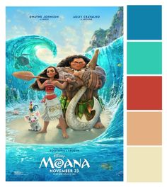 "The brand new trailer for Walt Disney Animation Studios' MOANA is finally here! The film, starring Auli'i Cravalho (voice of ""Moana"") and Dwayne Johnson (voice of ""Maui""), opens in theatres in this Thanksgiving! Moana Disney, Film Disney, Frozen Disney, Disney Pixar, Disney Art, Disney Movies Free, Disney Blu Ray, Disney Movie Posters, Disney Wiki"