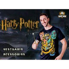 Camiseta Harry Potter - Brasões