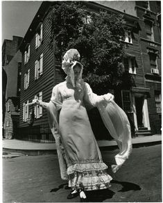 Bill Cunningham, Grove Court (ca. 1840s), Between Bedford and Hudson Streets, 1968-1976