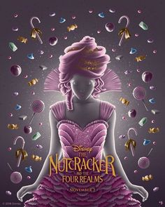 "The Poster Posse x Disney's ""The Nutcracker and the Four Realms"" – Poster Posse image by Poster Posse Pro Erin Gallagher Disney Up, Disney Magic, Disney Parks, Disney Pixar, Disney Movie Posters, Disney Movies, Live Action, Nutcracker Movie, Fantasy Posters"