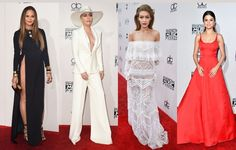 The 2016 American Music Awards aired Sunday night and the biggest names in music brought out their fiercest looks.CHECK all-star photos from the 2016 AMERICAN MUSIC AWARDS red carpet and RANK your favorite by voting below!