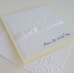Sympathy Greeting Card Handmade Blank Note Card  by Sentimentalist, $2.75