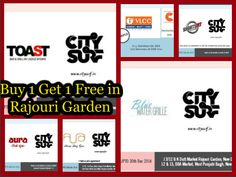 If you live or work in and around #RajouriGarden , here are 6 places where you get BUY 1 GET 1 FREE offers, only via #CitySurf  Order your copy here: Call us at: 9560955006 From our website: http://order.citysurf.in/landing or For home delivery mail us: info@citysurf.in #discounts #free #delhi