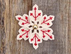 snowflake red | Flickr - Photo Sharing!