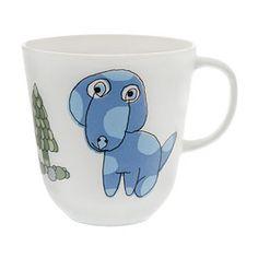Pentik. Bongo-muki, koira. Sininen, 0,3 l. 19,50 €. Finland, Textiles, Ceramics, Mugs, Tableware, Gifts, Design, Ceramica, Pottery