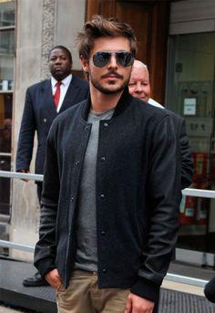 His sport's jacket(: