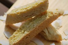 My story in recipes: Coconut Biscotti