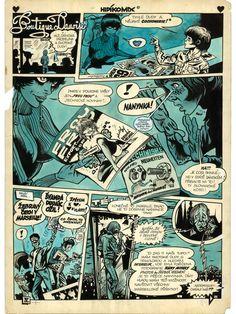 Comic Books, Comics, Cover, Art, Art Background, Kunst, Cartoons, Cartoons, Performing Arts