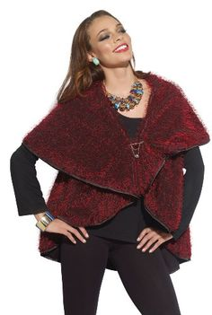 Festive and Gorgeous Ladies Novelty Eyelash Knit Cape by Love The Queen 17117 Love The Queen,http://smile.amazon.com/dp/B00ED3XSSG/ref=cm_sw_r_pi_dp_hUZetb0XH7NCY190