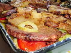 Hungarian Cuisine, Hungarian Recipes, Hungarian Food, Breakfast Lunch Dinner, Breakfast Recipes, Pork Recipes, Cooking Recipes, Food 52, Food Porn