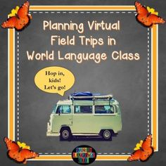 Virtual Field Trips in Your Foreign Language Classroom Engaging lesson plans to spice up your World Language classroom Middle School Spanish, Elementary Spanish, Spanish Classroom, Classroom Ideas, Seasonal Classrooms, French Classroom, Bilingual Classroom, Bilingual Education, Spanish Lesson Plans