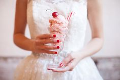 Red and White Wedding Ideas – dressempty Ice Cream Wedding, Red Wedding, Wedding Pics, Wedding Blog, Wedding Ideas, Wedding Cake, Wedding Dresses, Wedding Nails For Bride, Bride Nails
