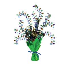 Bright And Bold Foil Spray Centerpiece 30th/Case of 6 Tags: Bright & Bold; Centerpieces; General Birthday; general birthday party ideas;general birthday party tableware;milestone birthday party ideas; https://www.ktsupply.com/products/32786323122/Bright-And-Bold-Foil-Spray-Centerpiece-30thCase-of-6.html