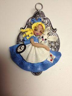 Alice in Wonderlandpolymer clay di Lespetitsdedanielle su Etsy