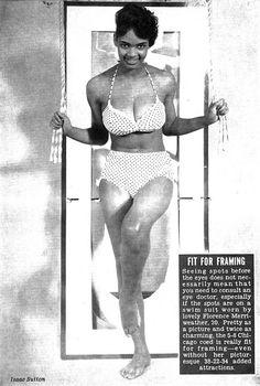 Florence Merriweather is Jet's Centerfold - Jet Magazine, April 16, 1964