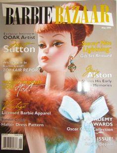 Barbie Bazaar magazine April/May 2006 - Final Issue ** Play Barbie, Barbie Dolls, Barbies Pics, Barbie Patterns, Barbie Friends, Collector Dolls, Vintage Barbie, Fashion Dolls, Doll Clothes