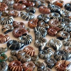 Sea-shell Polymer Clay Beads - TUTORIAL by Tani