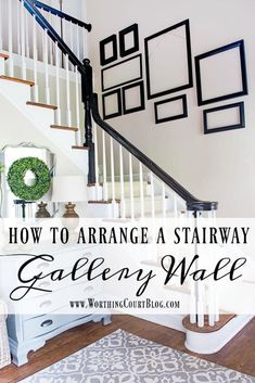 Easy Home Decor Tips for how to figure out a gallery wall arangement for a stairway Picture Arrangements, Staircase Decor, Gallery Wall, Stairway Decorating, Staircase Design, Stairway Walls, Stairway Gallery, Stairway Gallery Wall, Stairways