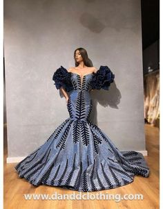 African Prom Dresses, Latest African Fashion Dresses, African Dress, Modern African Fashion, African Wear, African Style, Gala Dresses, Couture Dresses, Traditional Wedding Dresses