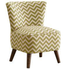 $252 Skyline Furniture Zig Zag Mid Century Slipper Chair | AllModern