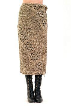 French Polynesia Tribal Skirt: $38