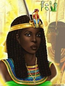 """NEITHHOTEP. Neithhotep, circa 3200 BCE, is credited as the first queen of Kmt (ancient Egypt), cofounder of the First Dynasty, and the earliest African queen whose name is known. You could even say that she reigns as a kind of godmother of Kmt—the greatest nation in the ancient world.  Neithhotep means the goddess """"Neith is Satisfied."""" Neithhotep's dynastic marriage to King Narmer represents the start of the Early Dynastic Period of Kmt and the unification of the Two Lands of Lower and Upper…"""