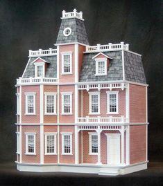 Newport in Brick Dollhouse Kit                                                                                                                                                                                 More