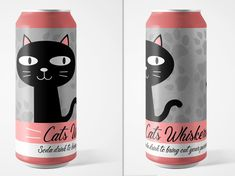 designed by Karen Peppler. Connect with them on Dribbble; the global community for designers and creative professionals. Cat Whiskers, Freelance Graphic Design, Creative Design, Water Bottle, Water Flask, Water Bottles