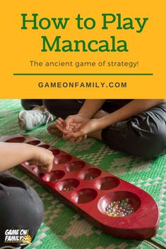 How to Play Mancala – the ancient game of strategy! Family Card Games, Fun Card Games, Card Games For Kids, Dice Games, Activity Games, Games To Play, Mancala Game, Easter Games For Kids, International Games