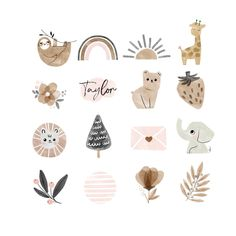 Boho instagram story highlight icons baby animal sloth bear | Etsy Story Instagram, Instagram Design, Photo Editing Apps, Rainbow Clipart, Cupcake Logo, Sloth Bear, Photography Marketing, Photography Studios, Photography Backdrops
