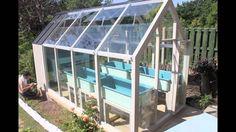 Aquaponics Time Lapse - greenhouse installation
