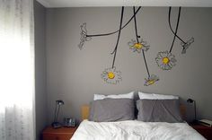 Surface Collective Oopsa-Daisies Wall Decal, Black/Yellow by Surface Collective, http://www.amazon.com/dp/B008RVKX92/ref=cm_sw_r_pi_dp_aBqJrb16Q64J8