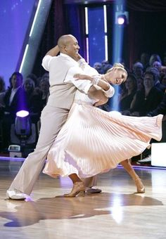Hines Ward and his partner Kym Johnson dance a Fox Trot and a Jive on week eight of 'Dancing With The Stars.' The judges gave the couple 28 out of 30 for their Fox Trot and 26 points out of 30 for their Jive. The couple earned a total of 53 out of 60.