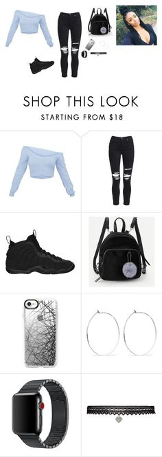 """Untitled #109"" by edenprincess on Polyvore featuring AMIRI, NIKE, Casetify, Catbird and Betsey Johnson"