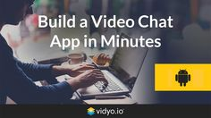 Watch as we show you how easy it is to build a video chat app for Android using Vidyo.io communication platform as a service. Using only Android Studio and t...