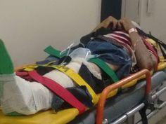 Idoso morre após sofrer mal súbito e bater carro em poste em Uberaba