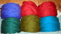 Wool roving by the pound.  Great price.