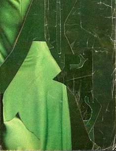 The Strange Attractor Another Green World, Visual Literacy, Graphic Design Pattern, Art For Art Sake, Shades Of Green, Mixed Media Art, Collage Art, Abstract Art, Illustration Art