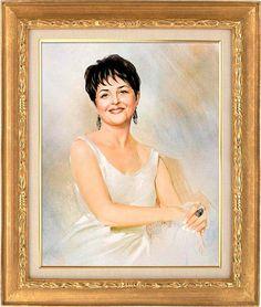 масло, портрет маслом, женский портрет, женщина в белом, портрет на заказ
