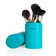 Brush Tube Case Turquoise