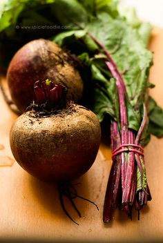 Fresh Beets Sauteed with Garlic, Onion and Beet Greens Recipe