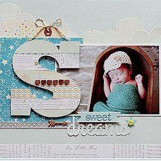 Cute scrapbook idea, new grandbaby coming:)