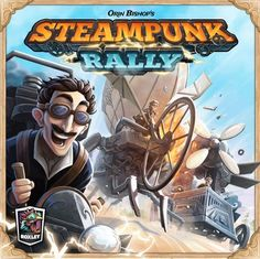 Gavan Brown of Roxley Games is raising funds for Steampunk Rally on Kickstarter! A true steampunk game featuring 108 translucent dice, 16 famed inventors, and unique dice-placement & card-drafting mechanics. Board Game Box, Fun Board Games, Tabletop Board Games, Corset, Mode Punk, Steampunk Couture, Game Google, Strategy Games, Goth