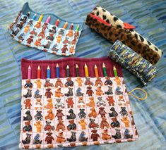 Ginx Craft: How to Sew a Pencil Roll