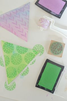 watercolor + rubber stamping ~ kids and grownups alike will love this beautiful technique