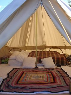 I could handle camping like this