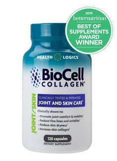 BioCell Collagen is the award winning and patented skin & joint supplement proven to work in multiple human clinical trials. BioCell Collagen contains a natural synergy of hydrolyzed collagen type II, chondroitin sulfate, and hyaluronic acid in matrix form that cannot be found in any other supplement.