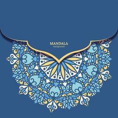 Free Vector | Luxury ornamental mandala background in gold color Mandala Pattern, Mandala Design, Best Visiting Card Designs, Islamic Designs, Islamic Images, Golden Pattern, Mehndi, Arabesque Pattern, Color Vector